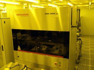レーザー直接描画装置<br>Laser Pattern Generator