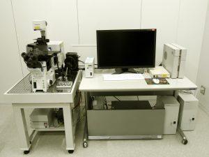 共焦点レーザー走査型顕微鏡<br>Confocal Laser Scanning Microscope