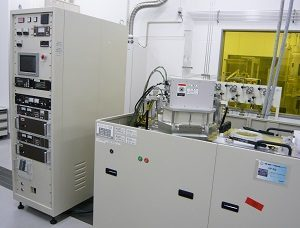 ICP-RIE装置<br>Inductive Coupled Plasma Reactive Ion Etcher